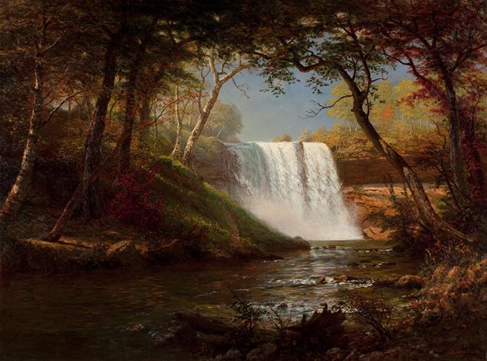 Albert Bierstadt, Minnehaha Falls