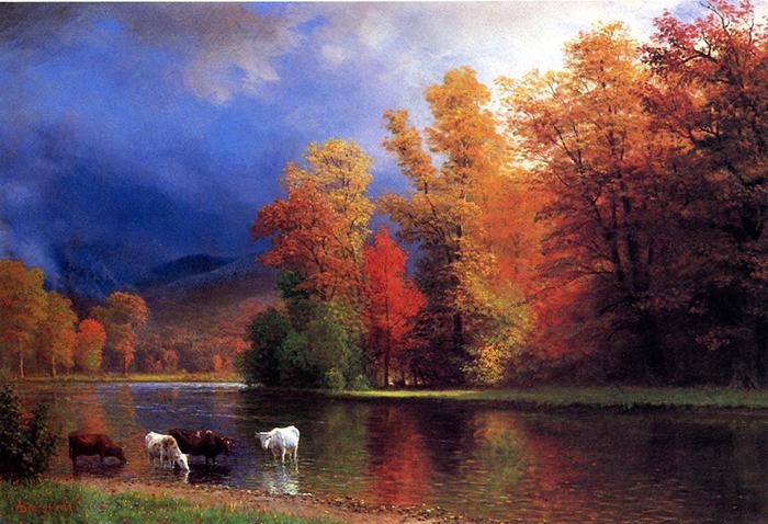 Albert Bierstadt, On the Saco