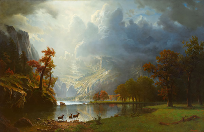 Albert Bierstadt, Sierra Nevada Morning, 1870