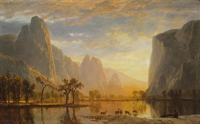 Albert Bierstadt, Valley of the Yosemite, 1864