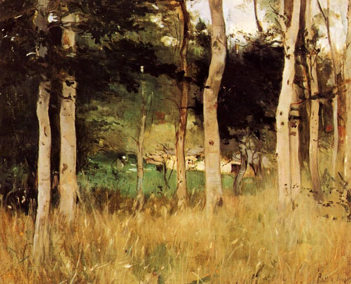 Berthe Morisot, A Cabin in Normandy, 1865