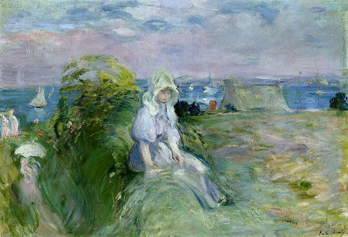 Berthe Morisot, On the Cliff in Portree, 1894