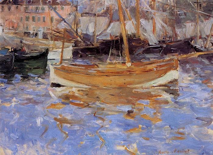 Berthe Morisot, The Port of Nice, 1882