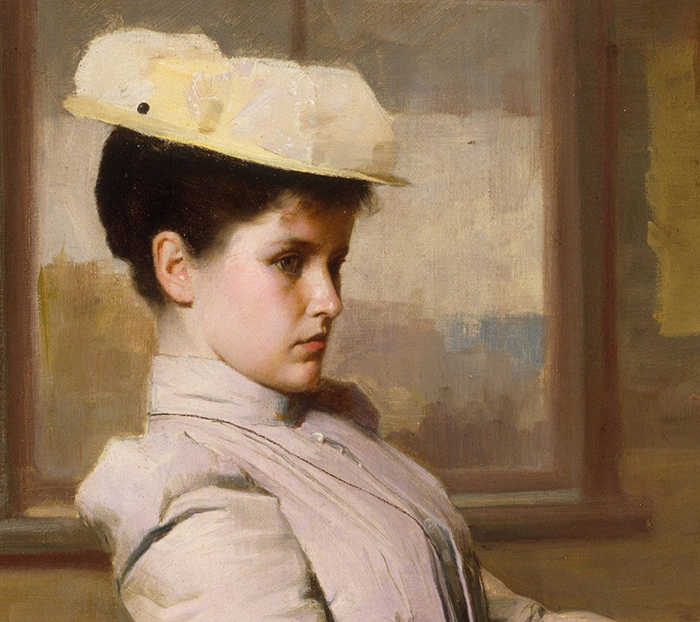 Gordon Coutts, Waiting, 1896 (Detail 1)