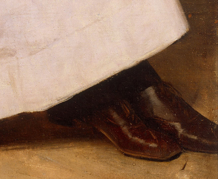 Gordon Coutts, Waiting, 1896 (Detail 4)