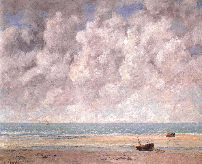 Gustave Courbet, Calm Sea