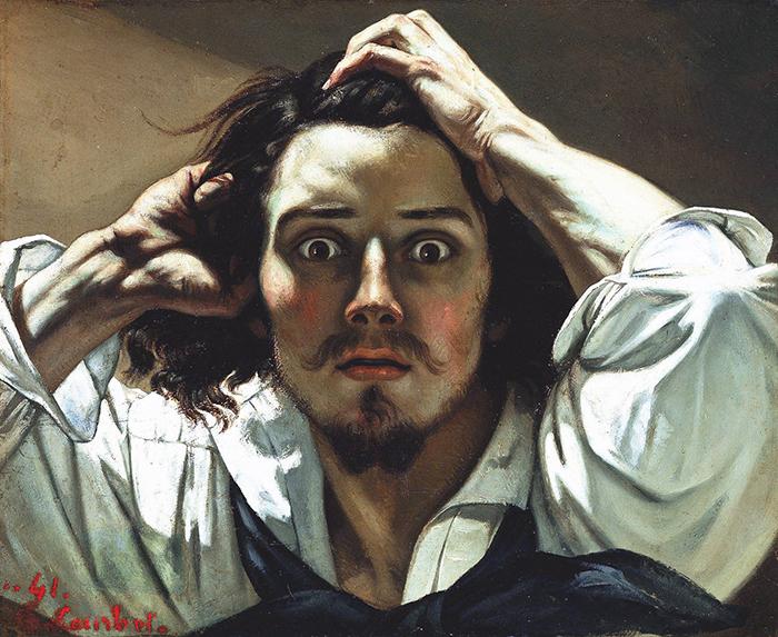 Gustave Courbet, Le Désespéré, c.1844