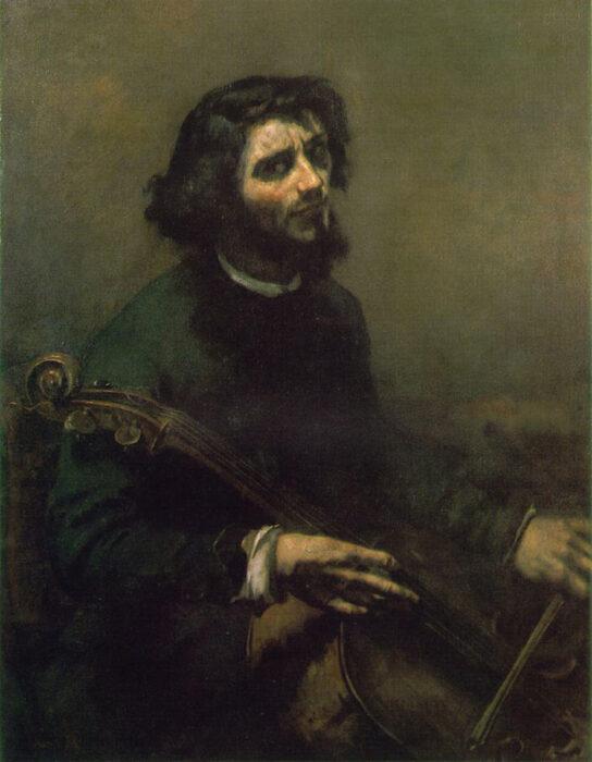 Gustave Courbet, The Cellist (Self-portrait), 1847