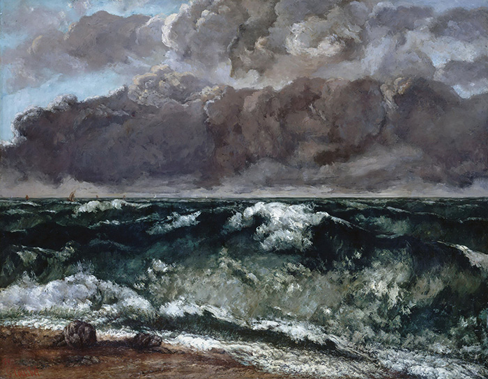 Gustave Courbet, Wave, 1870