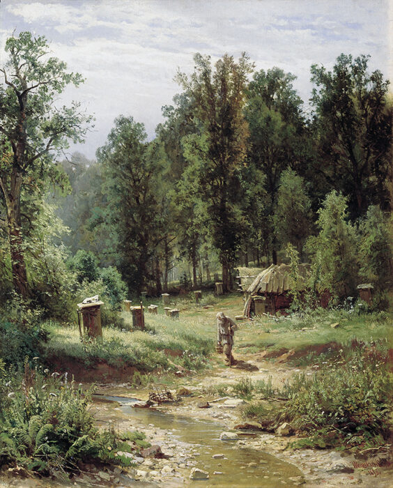 Ivan Shishkin, Bee Families in the Forest