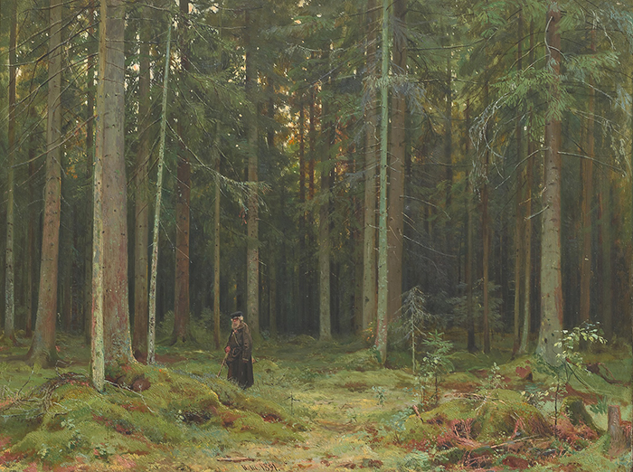 Ivan Shishkin, In the Forest, 1891