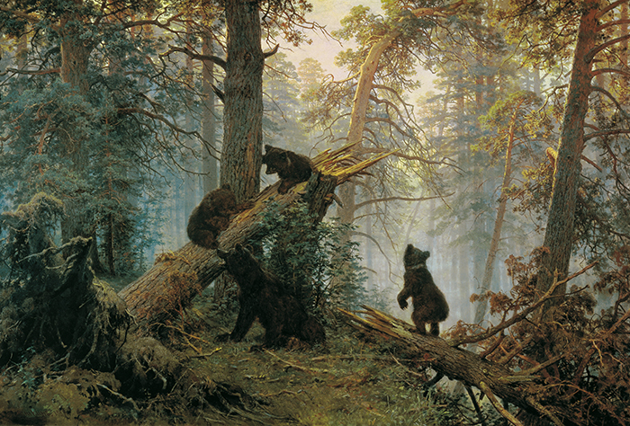 Ivan Shishkin, Morning in a Pine Forest, 1889