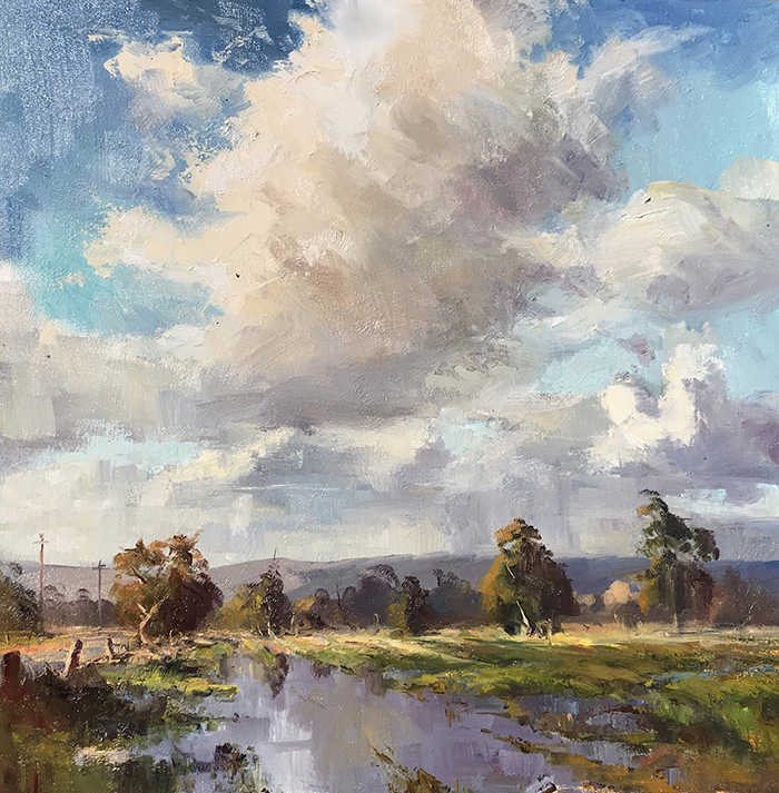Leon Holmes, After the Rain