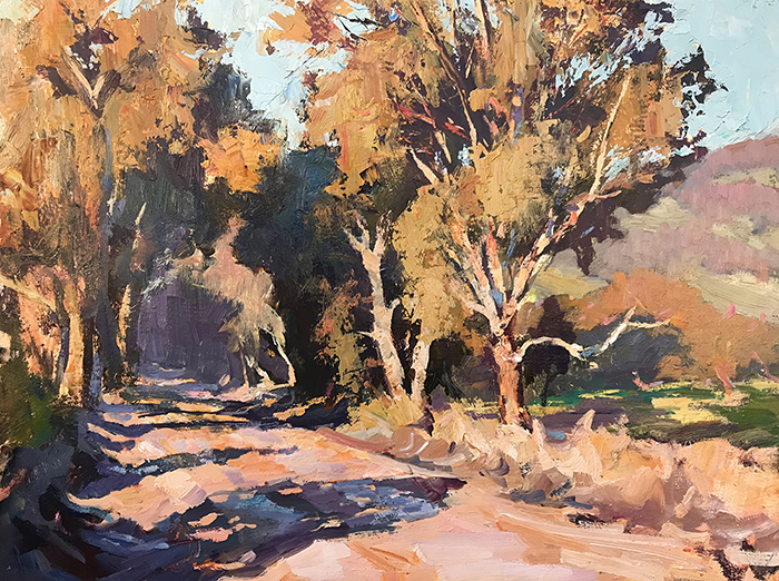 Leon Holmes, Sunset on Wades Road