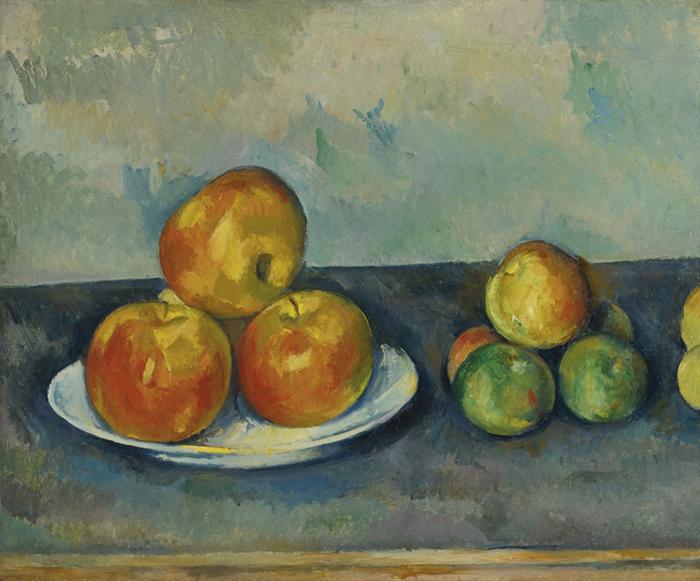 Paul Cezanne, Apples, 1890