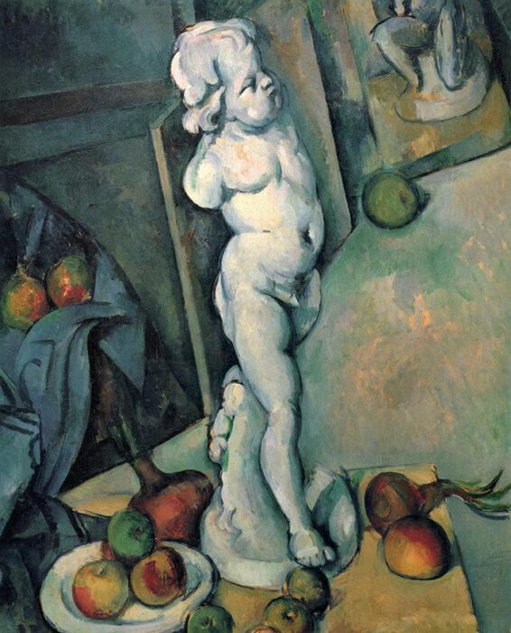 Paul Cézanne, Still Life With Cherub, 1895