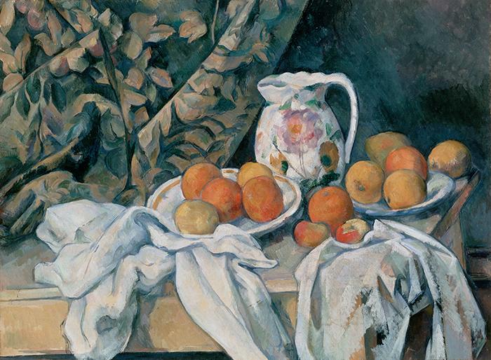 Paul Cézanne, Still Life With a Curtain, c.1898