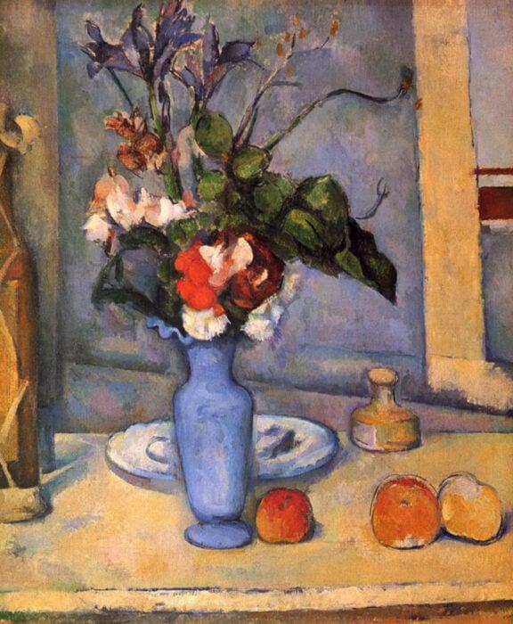 Paul Cezanne, Still Life with Blue Vase, 1890