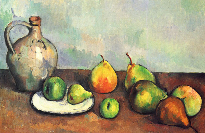Paul Cezanne, Still Life with Jug and Fruits, 1894