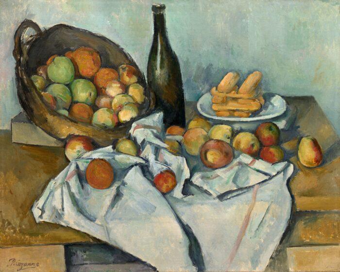 Paul Cézanne, The Basket of Apples, c. 1893