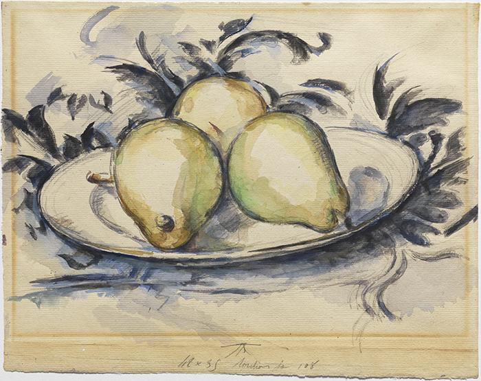 Paul Cézanne, Three Pears, 1888