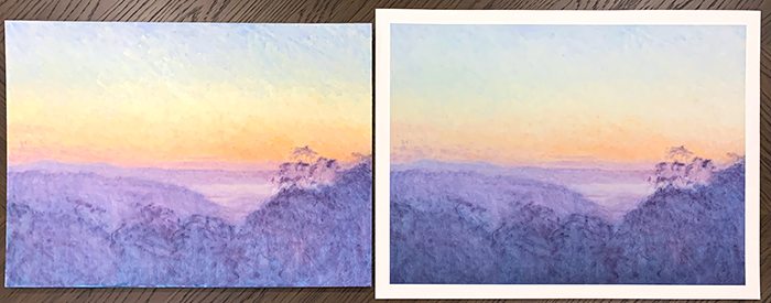 Print Versus Original (2)
