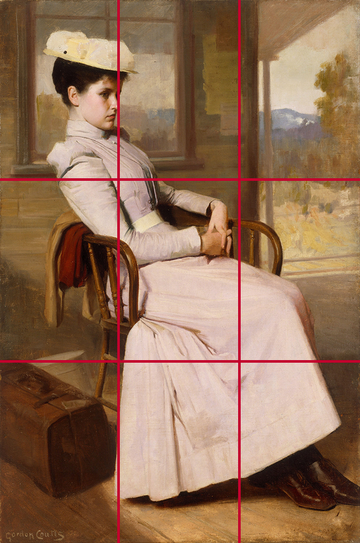 Gordon Coutts, Waiting, 1896 (Grid)
