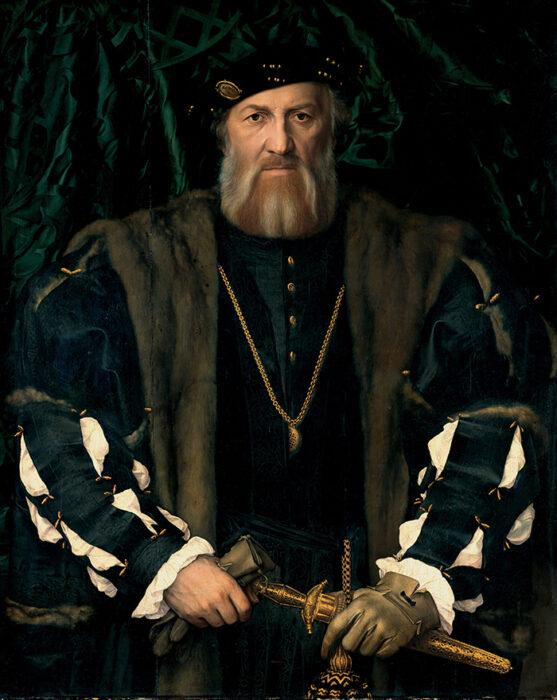 Hans Holbein the Younger, Charles de Solier, Sieur de Morette, c.1534