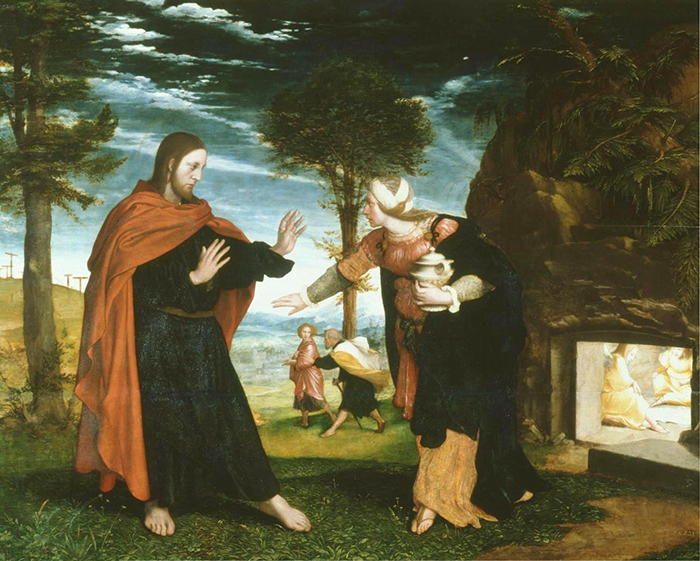 Hans Holbein the Younger, Noli and Tangere, c.1526