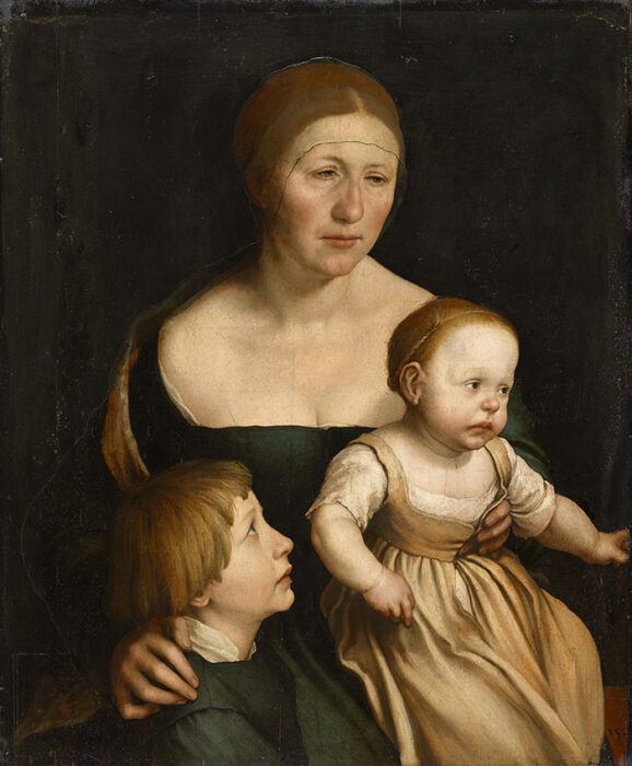 Hans Holbein the Younger, The Artist's Family, c.1528