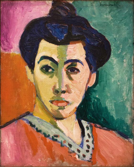 Henri Matisse, The Green Stripe (Portrait of Mme Matisse), 1905