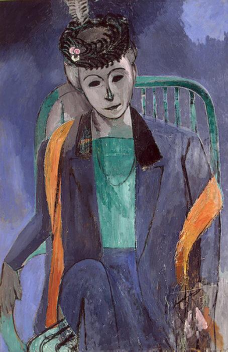 Henri Matisse, Portrait of the Artist's Wife, 1913