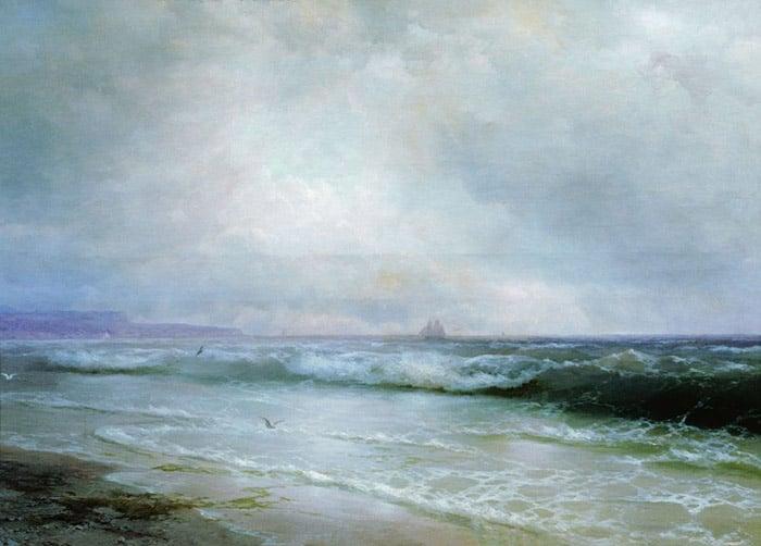Ivan Aivazovsky, Surf, 1893
