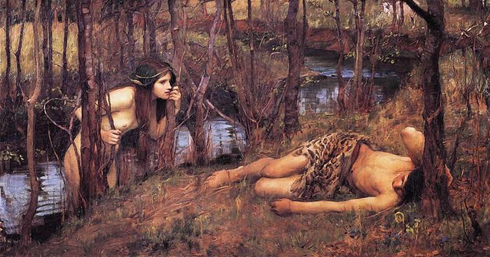 John William Waterhouse, A Naiad, 1893