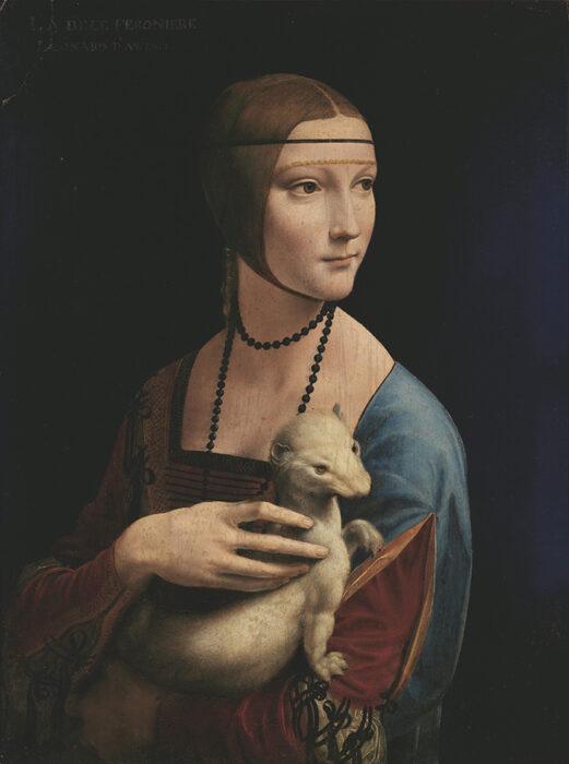 Leonardo da Vinci, Lady with an Ermine, 1489-1491