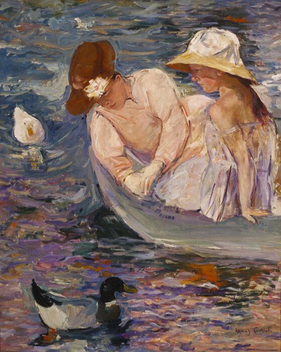 Mary Cassatt, Summertime, 1894