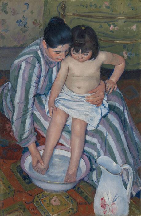 Mary Cassatt, The Child's Bath, 1893