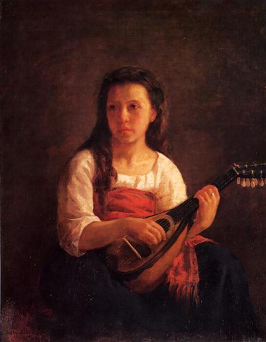 Mary Cassatt, The Mandolin Player, c.1872
