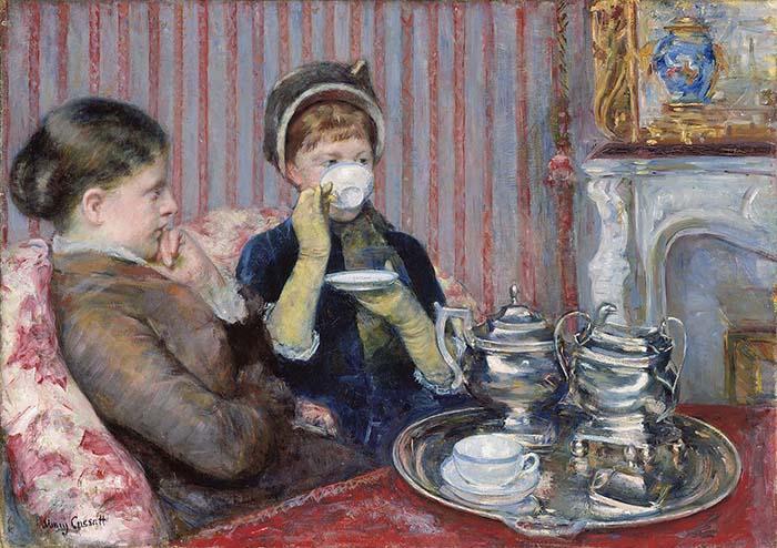 Mary Cassatt, The Tea, 1880