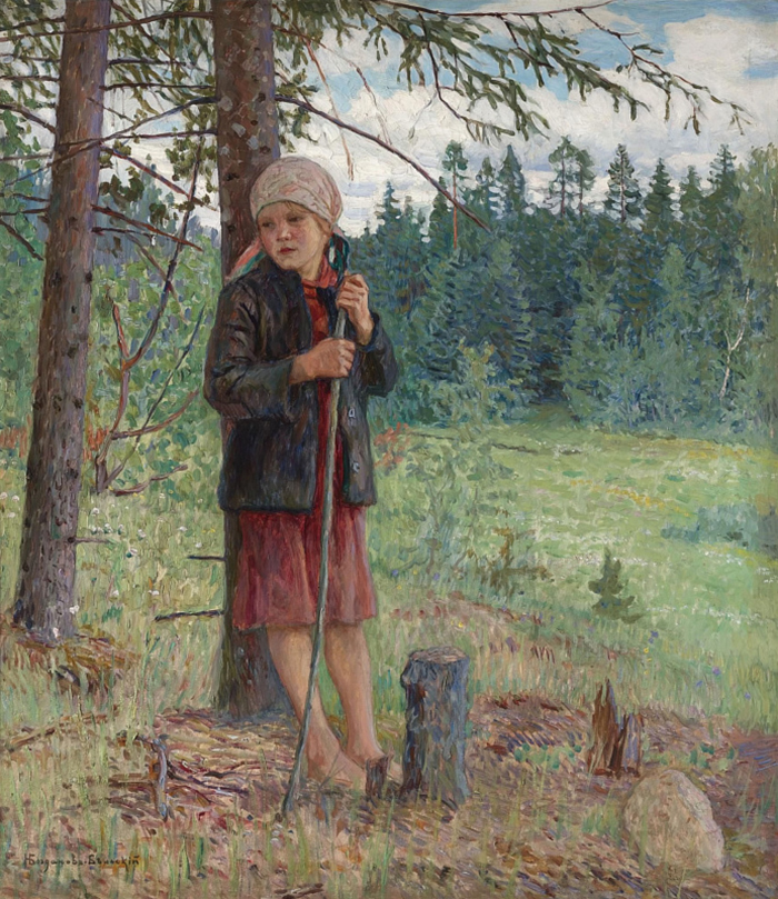 Nikolay Petrovich Bogdanov-Belsky, The Girl in the Forest