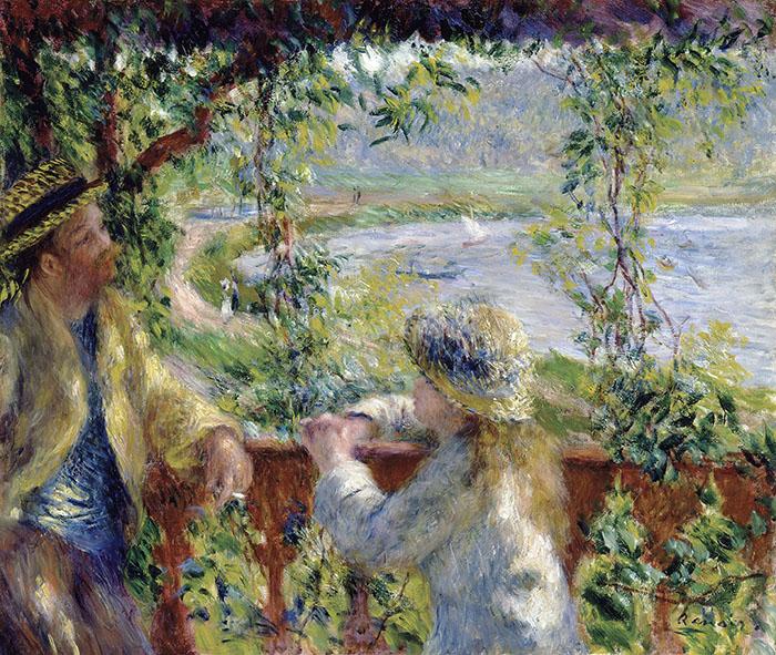 Pierre-Auguste Renoir, By the Water, c.1880