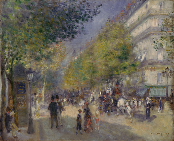 Pierre-Auguste Renoir, French, The Grands Boulevards, 1875