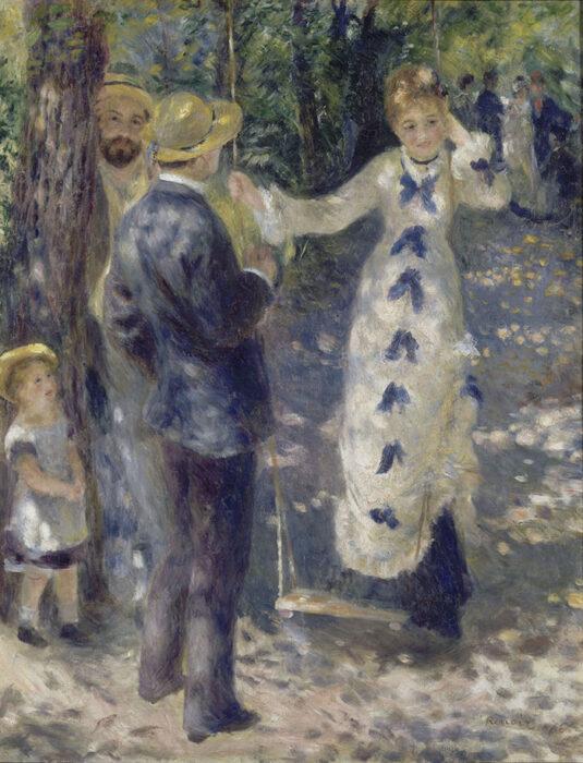 Pierre-Auguste Renoir, Swing, 1876