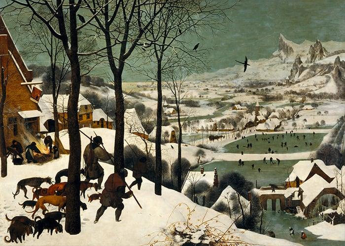 Pieter Bruegel the Elder, The Hunters in the Snow, 1565