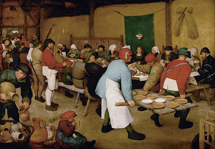 Pieter Bruegel the Elder, The Peasant Wedding, 1567
