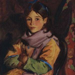 Robert Henri, One of the Children of Dooagh, 1924