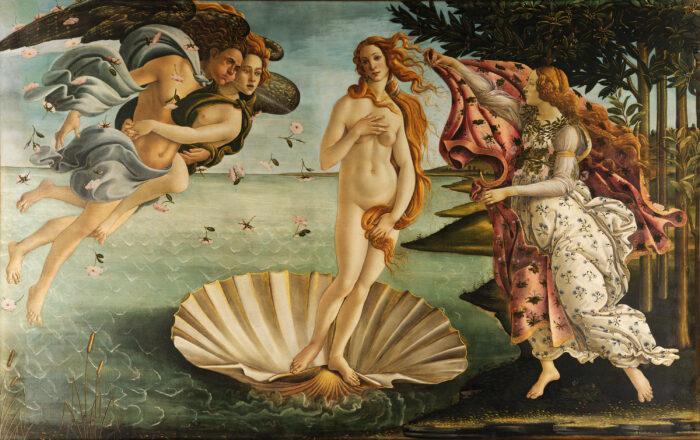 Sandro Botticelli, The Birth of Venus, 1483 - 1485