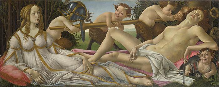 Sandro Botticelli, Venus and Mars, c.1483