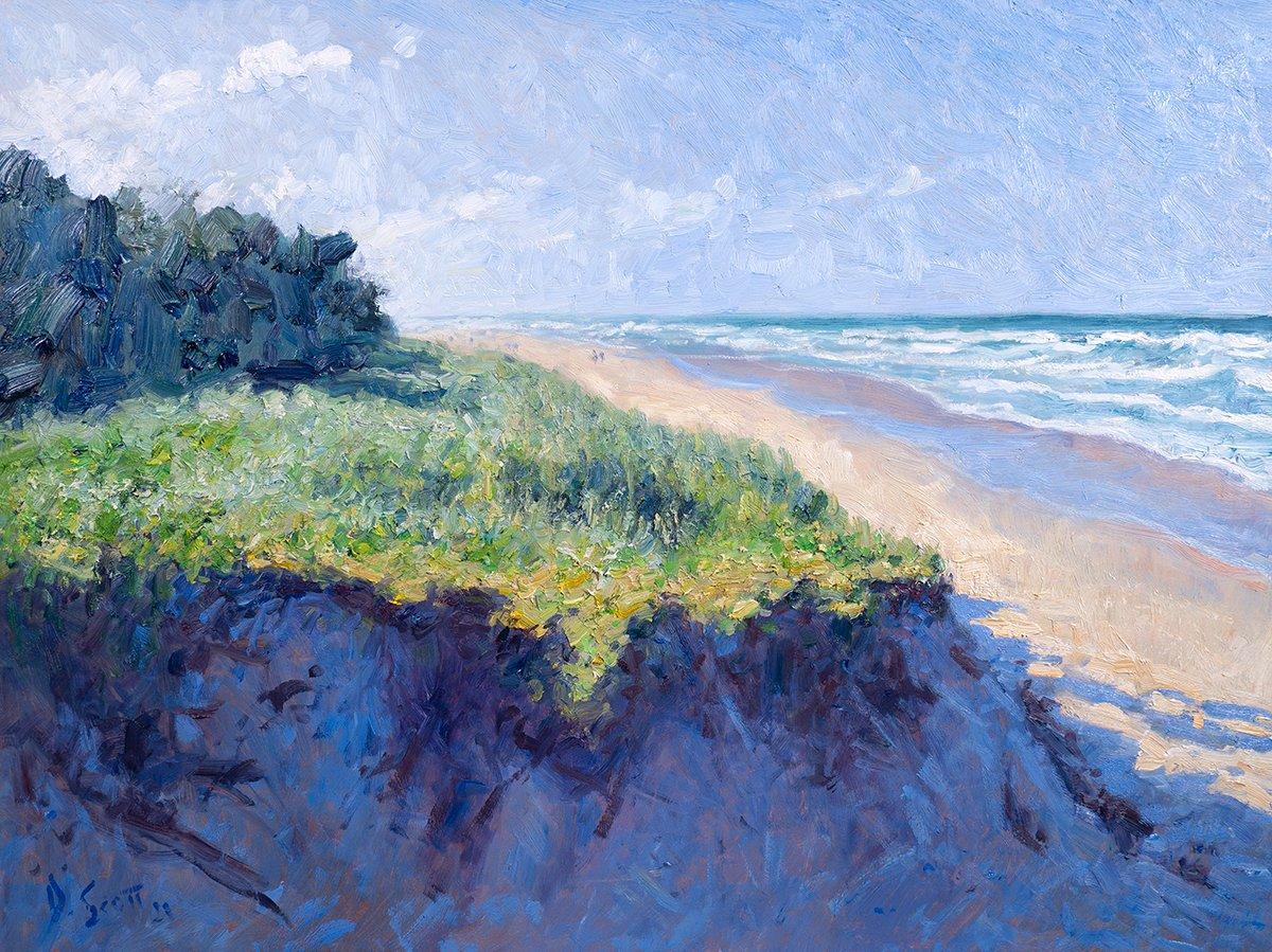 Dan Scott, Gold Coast, Sea and Sand, 2021
