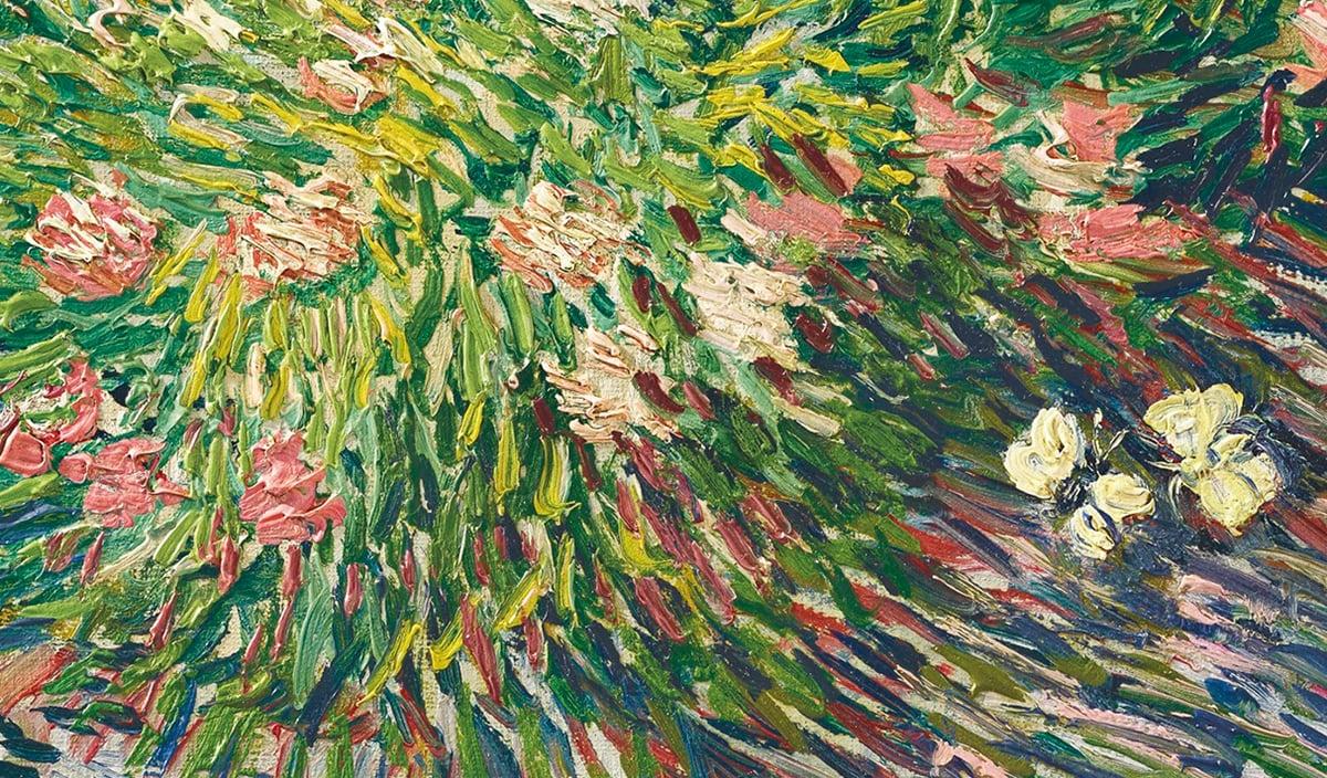 Vincent van Gogh, Garden Coin With Butterflies, 1887 (Detail 2)